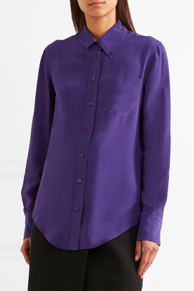 Image: Prada shirt from Net a Porter