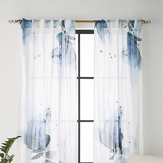 WATERCOLOUR CURTAINS ANTHROPOLOGIE Porter And Brawn