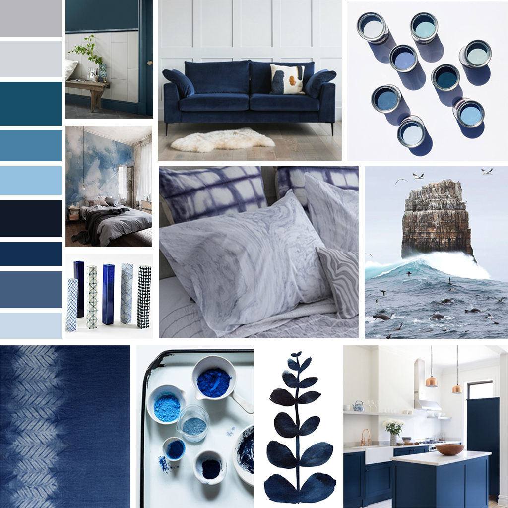 SS18 Trend Edit: Inky Blues