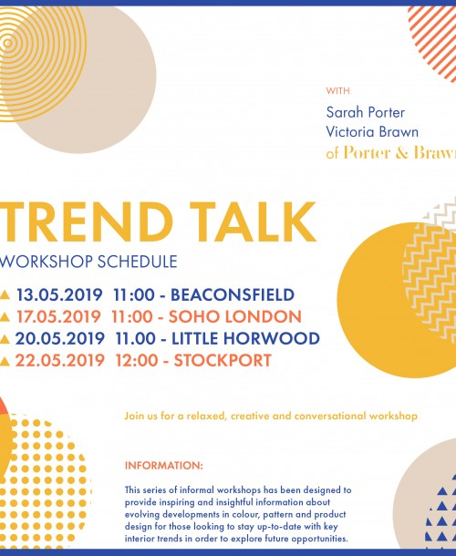INTERIOR TREND WORKSHOPS